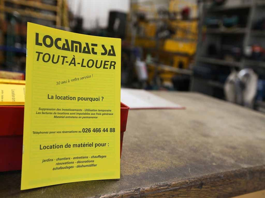 Locamat SA - Location de machines à Givisiez